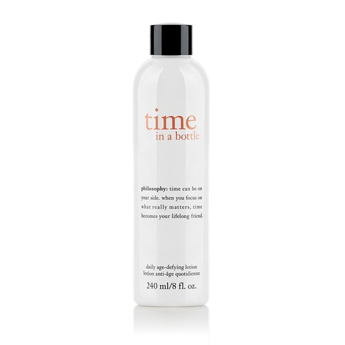 Closeup   time in a bottle age defying lotion