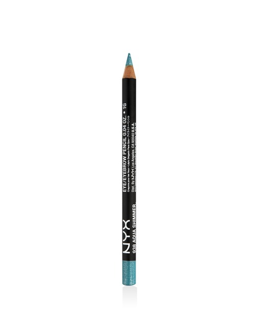 NYX Slim Eye Pencil Aqua Glitter