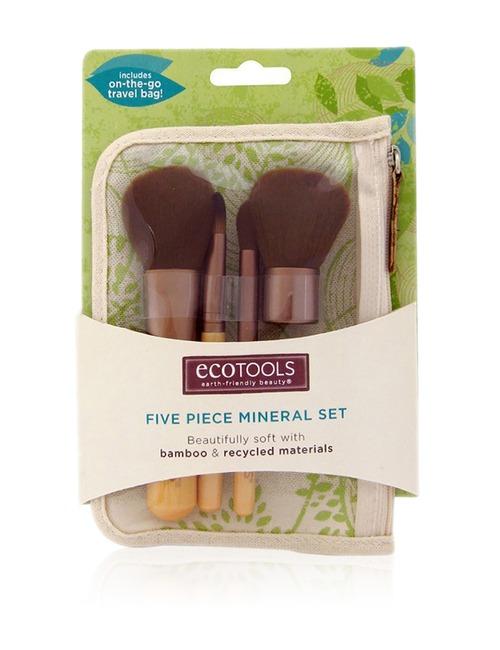 Closeup   eco tools 5pcs mineral set
