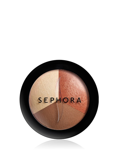 Sephora Collection Micro Smooth Baked Sculpting Contour Trio 3 Sultry