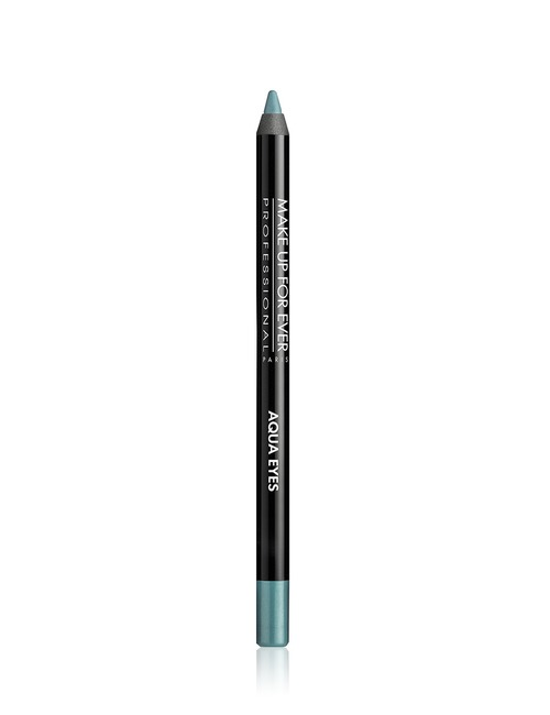Make Up For Ever Aqua Eyes Waterproof Pencil 12l Blue with Green Highlights