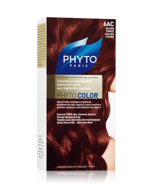 Closeup   phytocolor dark coppery mahogany blond