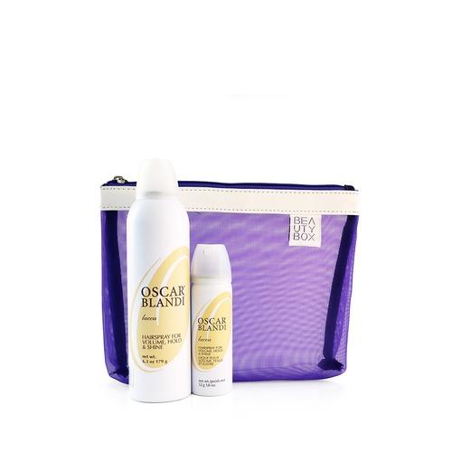 Closeup   lacca hairspray