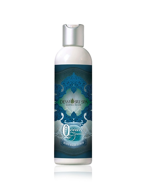 Dewi Sri Spa Body Wash Scrub Ocean Serenity