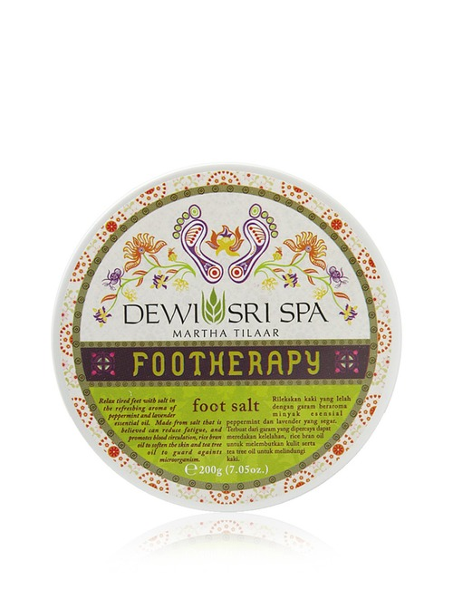 Dewi Sri Spa Foot Therapy   Foot Salt