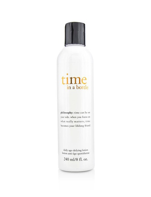 Closeup   time in a bottle toner lotion