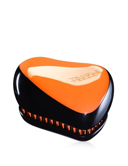 Closeup   compact styler neon orange